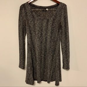 Urban Outfitters BDG Sweater Dress Gray